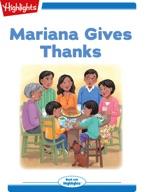 Mariana Gives Thanks