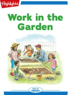Tex and Indi: Work in the Garden