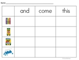 HFW: A Year of Build-A-Sight Word and Alphabet Centers