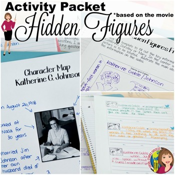 HIDDEN FIGURES ACTIVITY PACKET