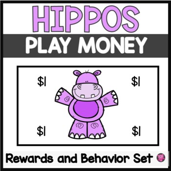 HIPPOPOTAMUS COLORED CHARACTER EDUCATION CLASSROOM MANAGEM