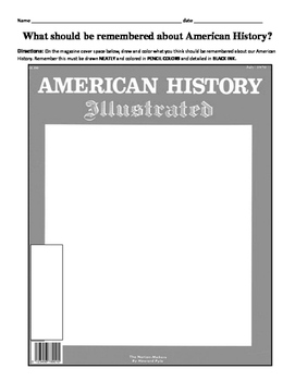 HISTORY  American History magazine cover