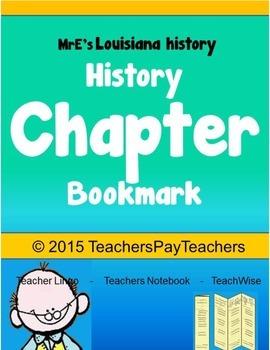 HISTORY - Bookmark
