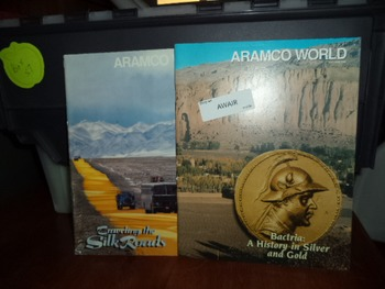 HISTORY IN SILVER  GOLD   SILK ROADS  (SET OF 2)