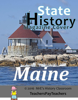 HISTORY  Maine Magazine Cover