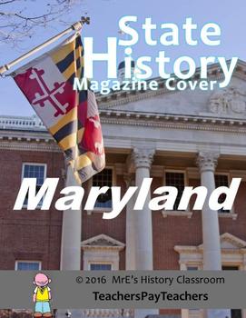 HISTORY  Maryland Magazine Cover