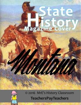 HISTORY  Montana Magazine Cover