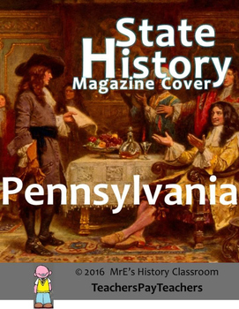 HISTORY  Pennsylvania Magazine Cover