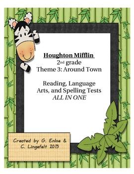 Houghton Mifflin 2nd grade Theme 3 Reading, LA, and Spelli