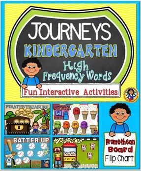 Journeys Kindergarten High Frequency Words Fun Interactive