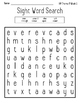 HM Theme 9 High Frequency Word Practice