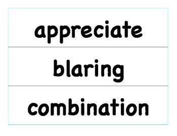 HMH Journeys Grade 4 Unit 5 Vocabulary Cards for Pocket Chart