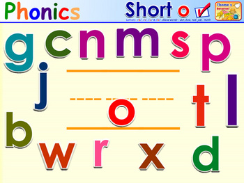 HMR Grade 1 Theme 02 Phonics - Interactive Activity - PowerPoint