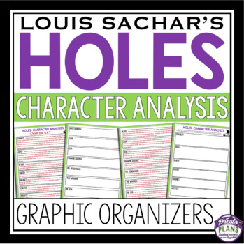 HOLES CHARACTERS