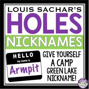 HOLES NICKNAMES
