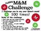 HOLIDAY M&M Challenge