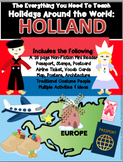 HOLIDAYS AROUND THE WORLD:  HOLLAND Mini Unit