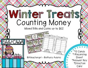 Winter Treats Counting Money