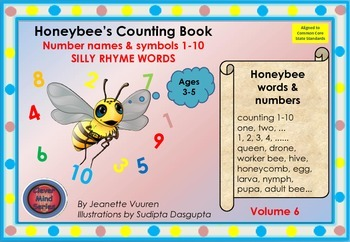 HONEYBEE FACTS WORDS & SONG: YOUTUBE HONEYBEE'S SILLY RHYM