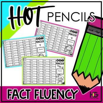 HOT Pencils {Addition and Subtraction Practice & Memorization}