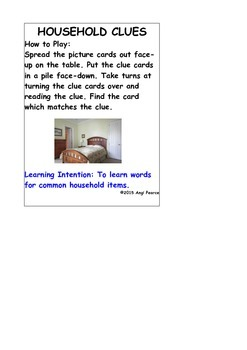 HOUSEHOLD CLUES