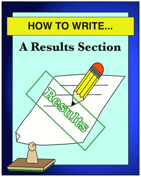 HOW TO WRITE... A Results Section