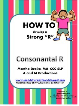 """HOW TO develop a Stong """"R"""": Consonantal R"""