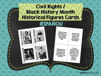 HS Civil Rights / Black History Month Historical Figures S