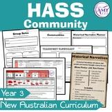 HASS YEAR 3 Community Unit -ACARA