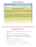HTML Programming & Web Design: Practical Part Unit 1