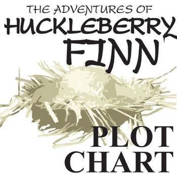 HUCKLEBERRY FINN Plot Chart Organizer (by Twain)
