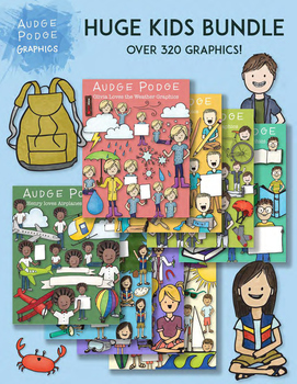 HUGE Kid Graphics Bundle