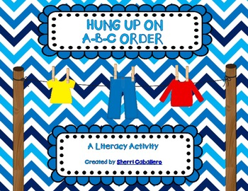 HUNG UP ON A-B-C ORDER