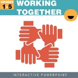 Working Together PowerPoint and Worksheet