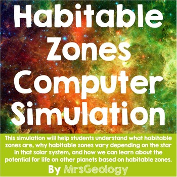 Habitable Zone Simulation: Is there life on other planets?