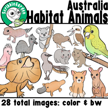 Habitat Animals: Woodlands & Grasslands of Australia