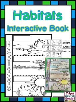 Habitats Flip Flap Book