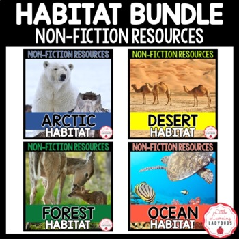 Habitat Non-Fiction Resources {Close Reads & Informational
