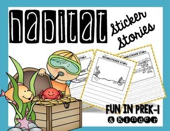 Habitat Sticker Stories