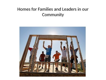Habitat for Humanity and other Community Leaders Vocabular