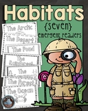Habitats {7 Emergent Readers for the Beginner}