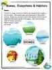Habitats and Communities
