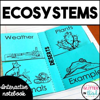 Habitats & Ecosystems Interactive Notebook