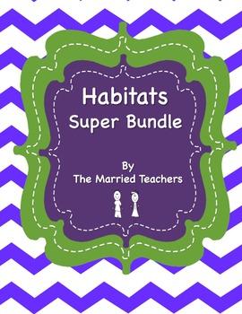 Habitats Interactive Foldables and Activities Super Bundle