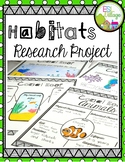 Habitats {Research Project}