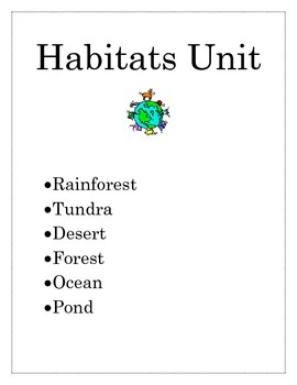 Habitats Unit