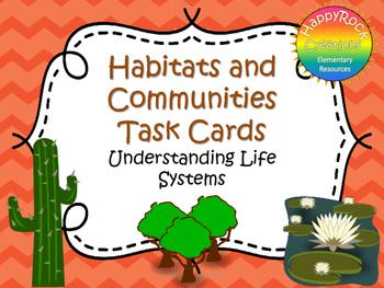 Habitats and Communities Task Cards