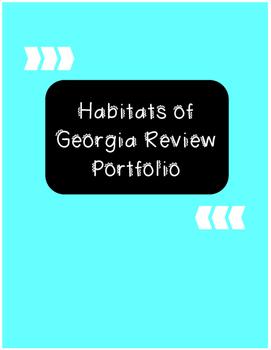 Habitats of Georgia Review Portfolio Project
