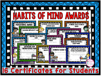Habits of Mind (Award Certificates)