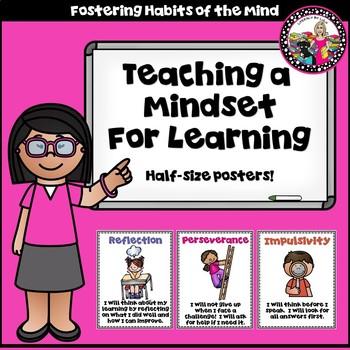 Habits of Mind Posters! Mini Bulletin Board! Participation